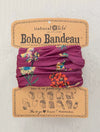 Natural Life Boho Bandeau in Berry Stems