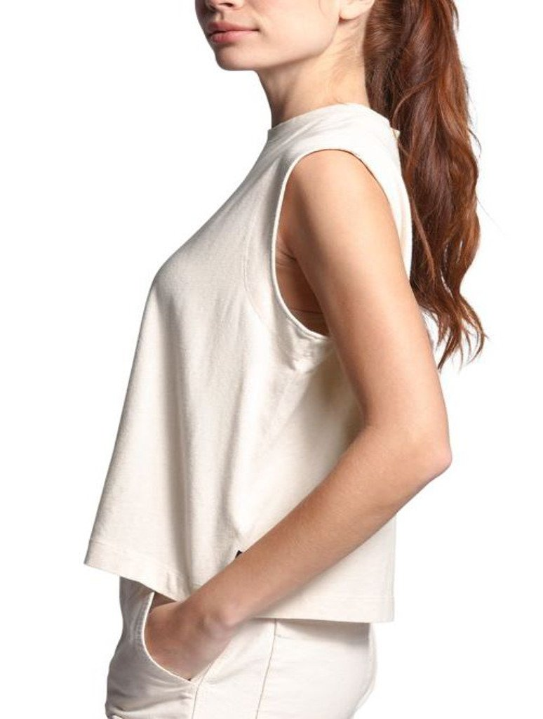 North Face Woodside Tank in Raw Undyed