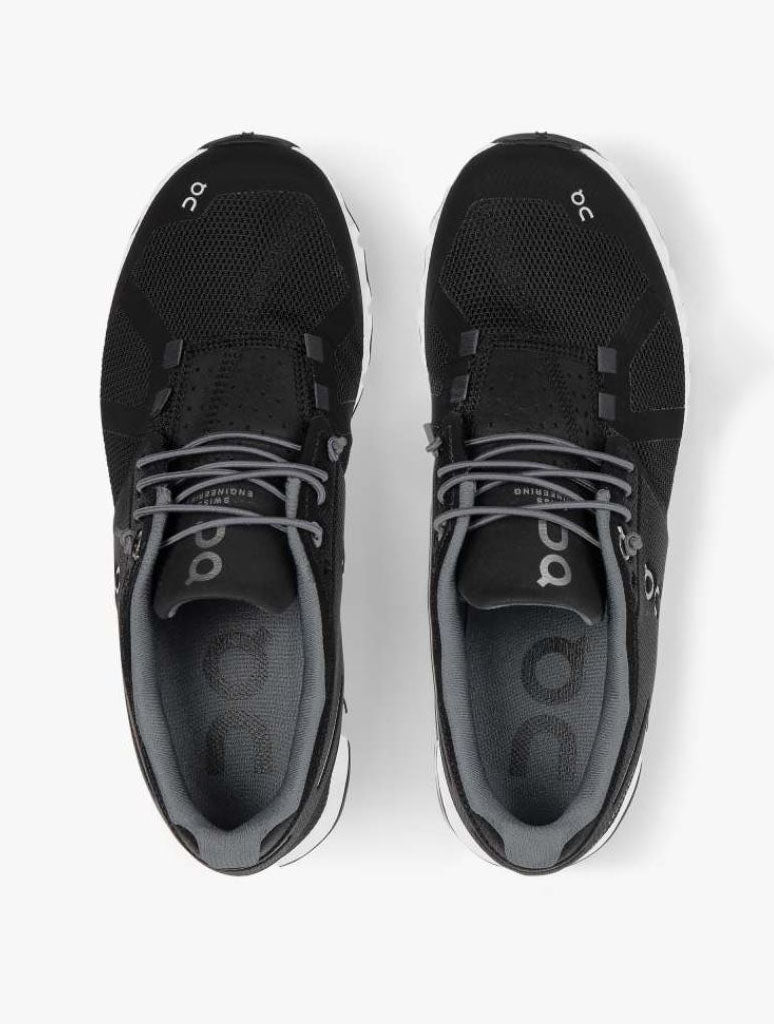On Running Cloud Sneaker in Black White