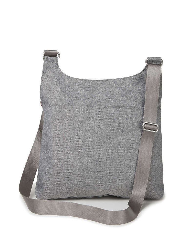 Baggallini On Track Crossbody Bag in Stone