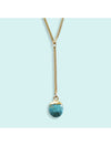 Ornamental Things Turquoise Y-Drop Necklace