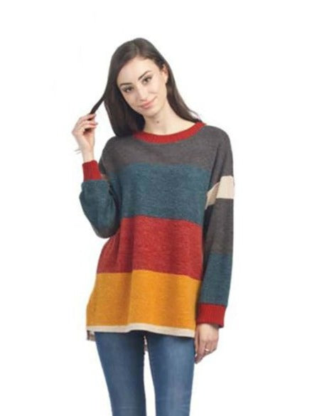 Papillon Colorblock Sweater in Multi