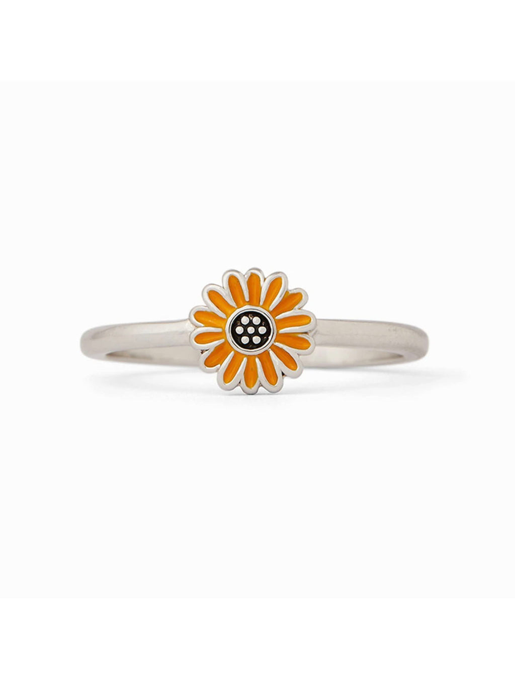 Pura Vida Sunflower Ring in Silver