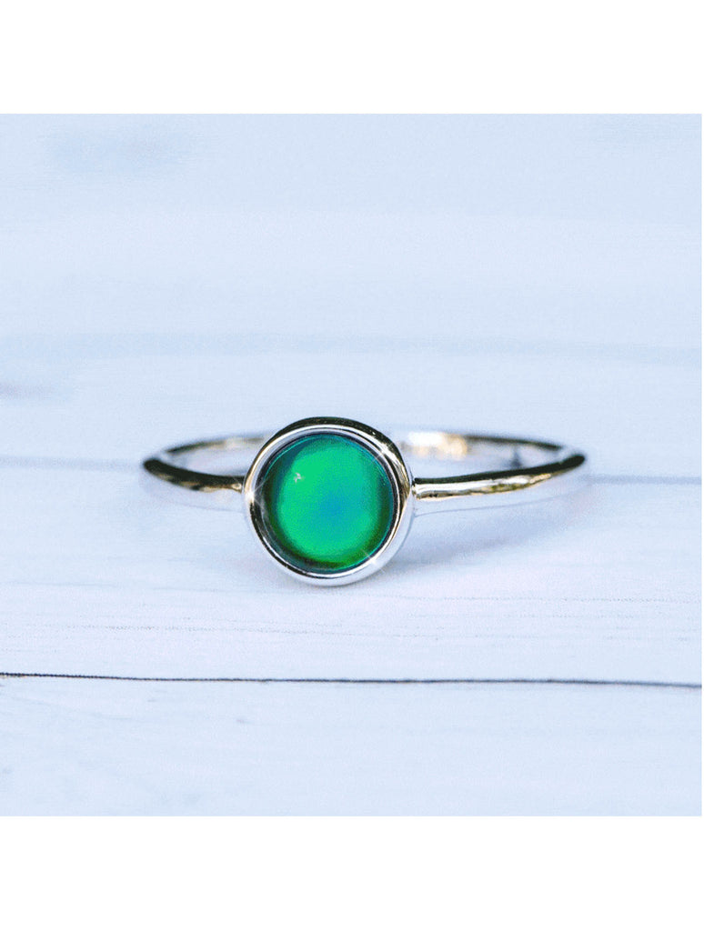 Pura Vida Mood Ring in Silver