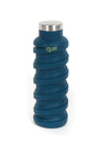 Que 20oz Collapsible Bottle Midnight Blue