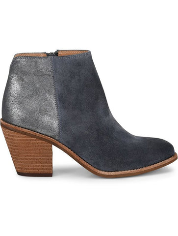 Sofft Tilton Heeled Zip Western Bootie in Black