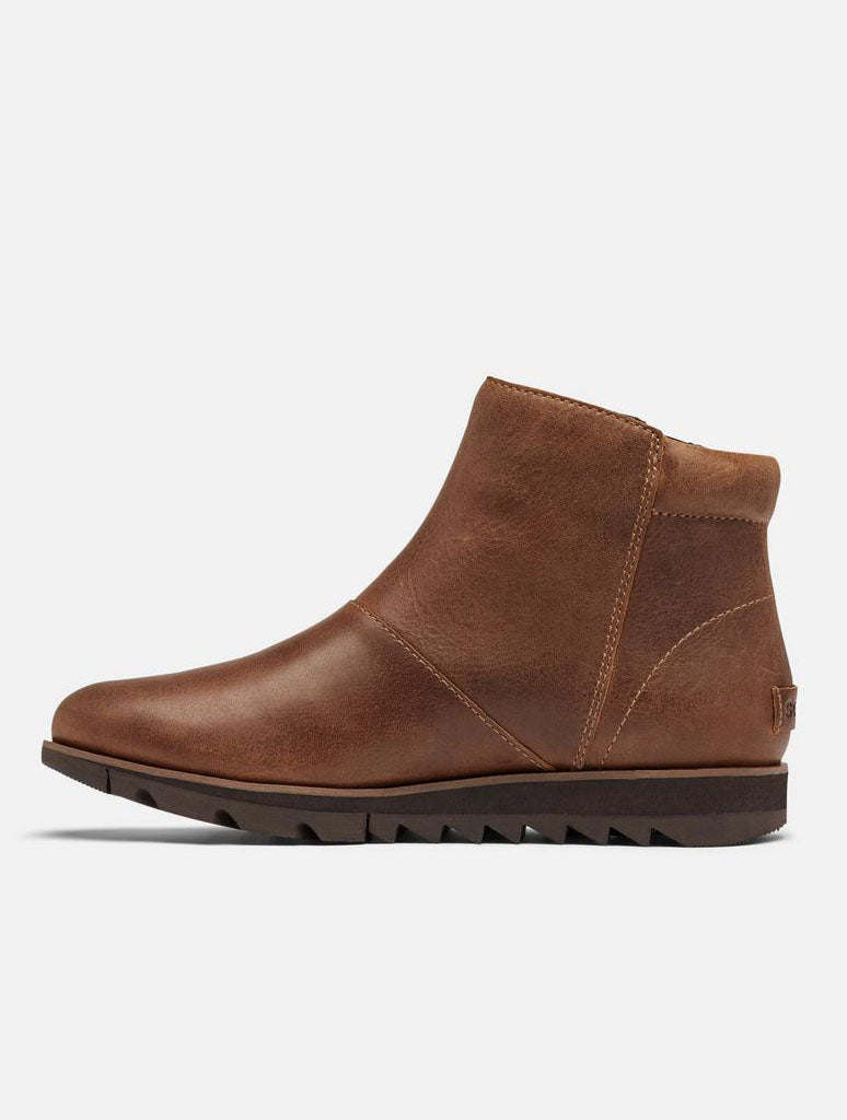Sorel Harlow Zip Bootie in Velvet Tan