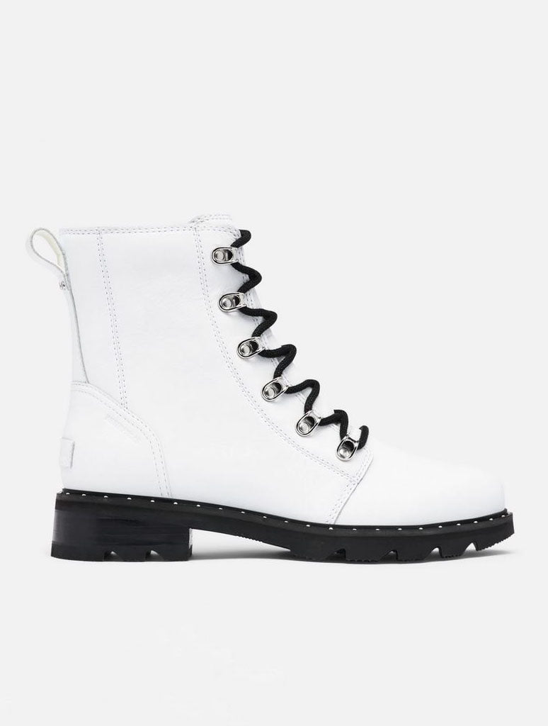 Sorel Lennox Lace Boot in White