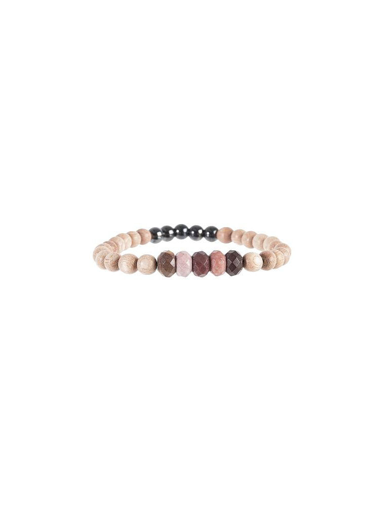 SoulKu Mookaite Be Your Own Hero Bracelet for Be Awesome