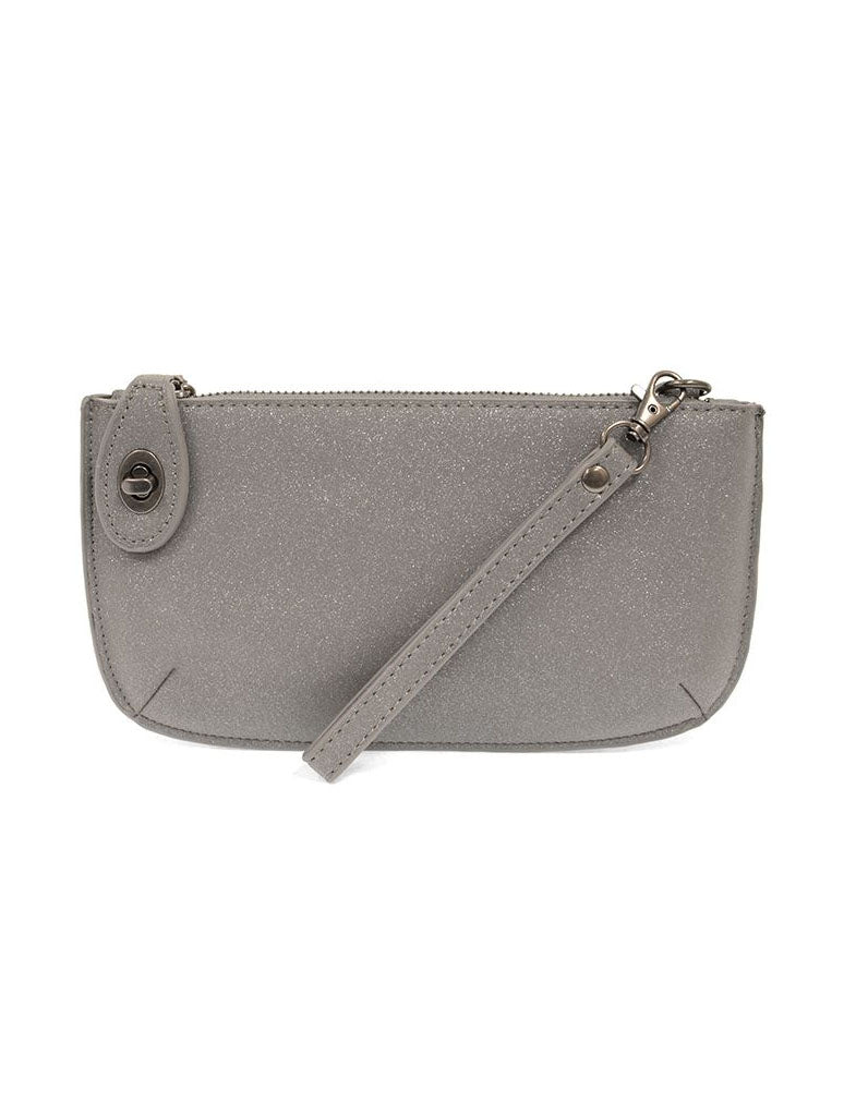 Joy Susan Sparkle Mini Crossbody in Grey