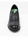 Salvia Brie Heeled Oxford Shoe in Black