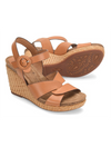 Sofft Casidy Wedge Sandal in Luggage