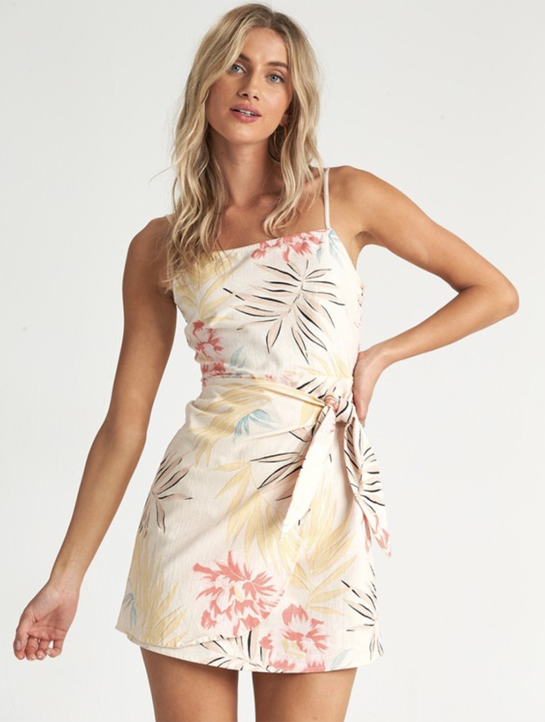 Billabong Island Hopper Dress in Whisper