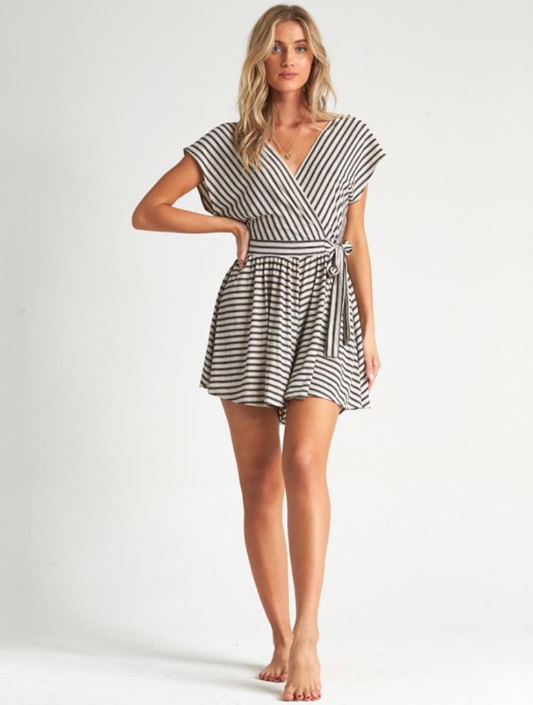 Billabong Easy Day Romper in Whisper