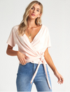 Billabong Under Wraps Top in Barely Blush