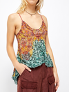 Free People Way You Walk Printed Cami in Copper