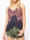 Free People Square Off Duo Cami in Army