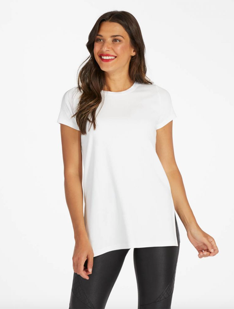 Spanx Perfect Tee Shirt in White
