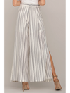 Miss Me Flair Pant in Ivory