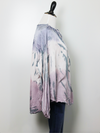 Olivaceous Silk Tie Dye Blouse in Lavender