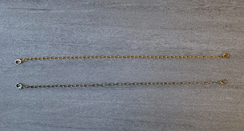 CRC Mask Chain in Gold