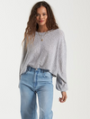 Billabong Miles Away Top in Athletic Grey