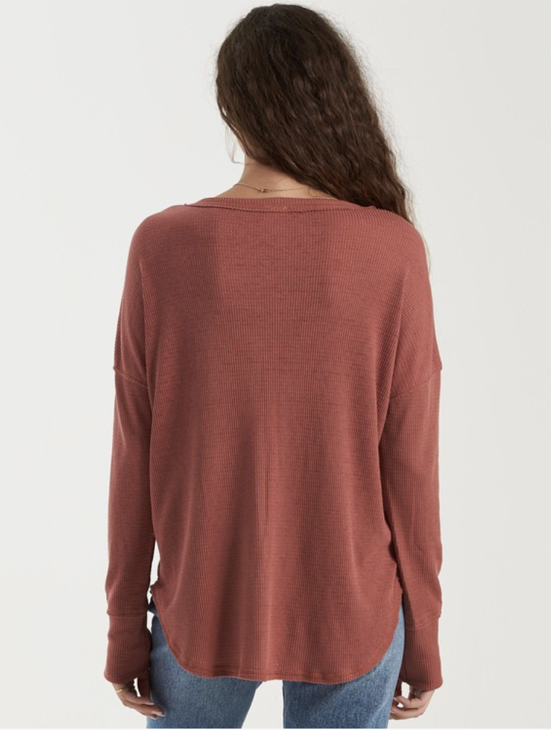 Billabong Any Day Top in Chestnut