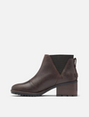 Sorel Cate Chelsea Boot in Blackened Brown
