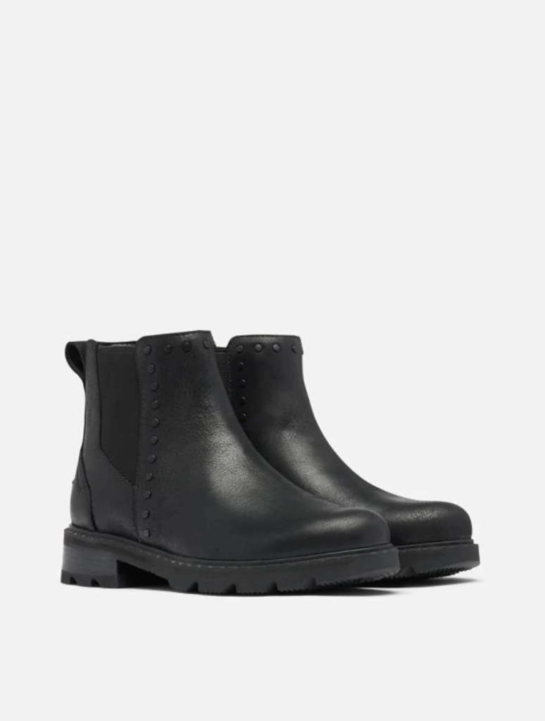 Sorel Lennox Chelsea Stud Boot in Black