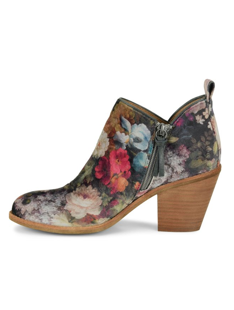 Sofft Tamela Floral Bootie in Pink Multi