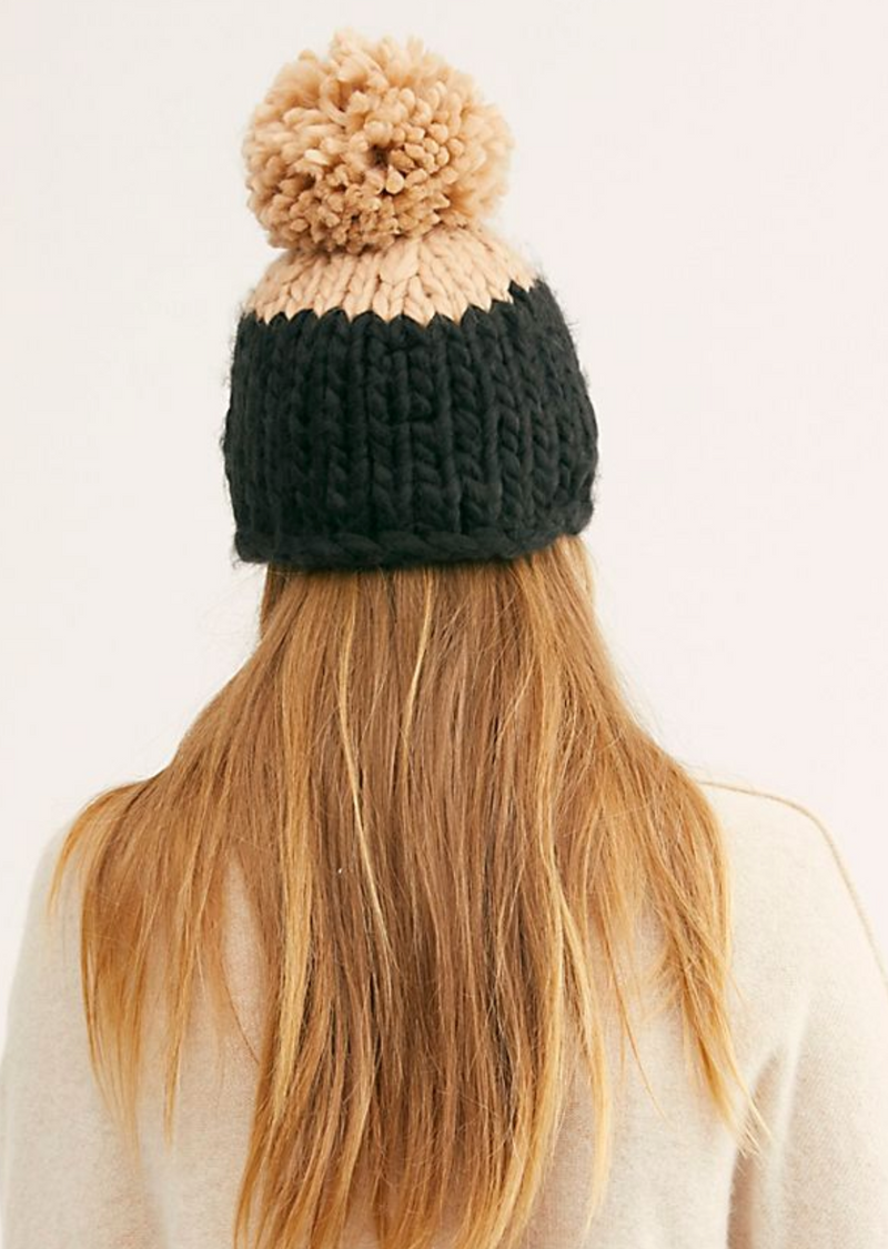 Free People Cozy Up Hat in Black