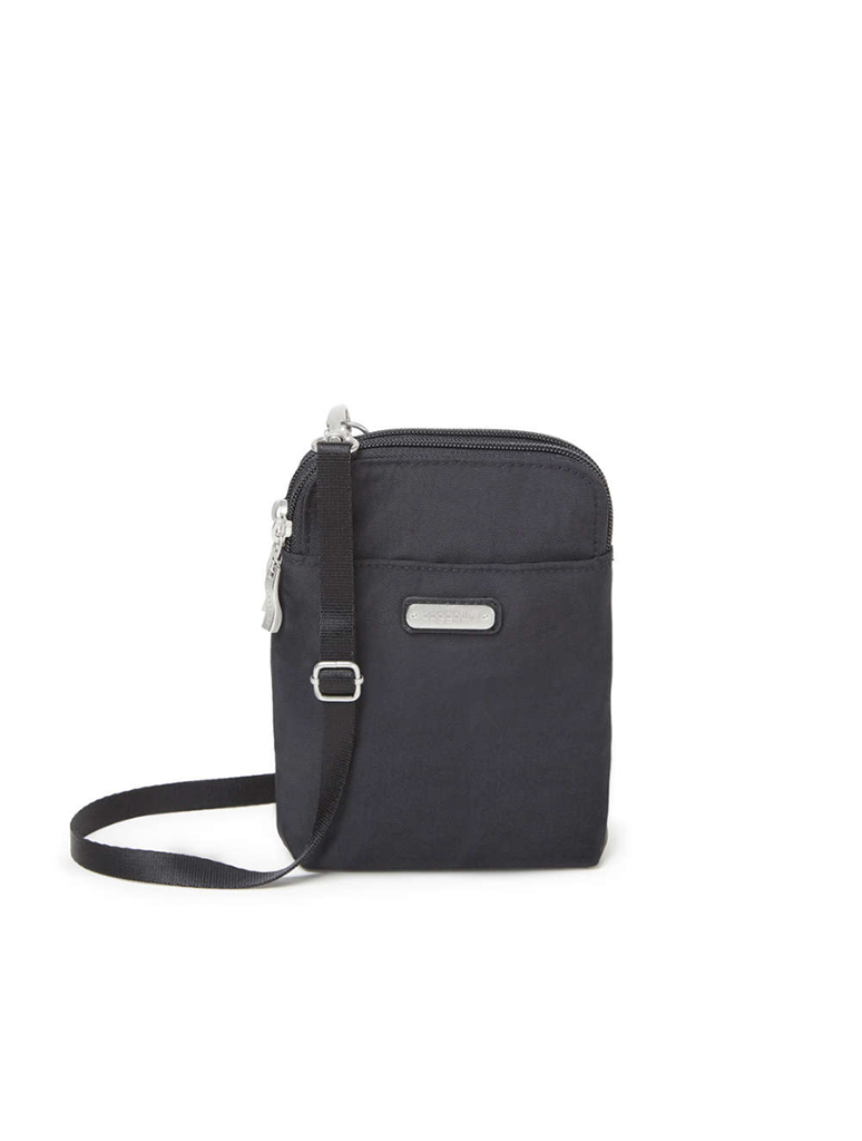 Baggallini Take Two RFID Bryant Crossbody Bag in Black