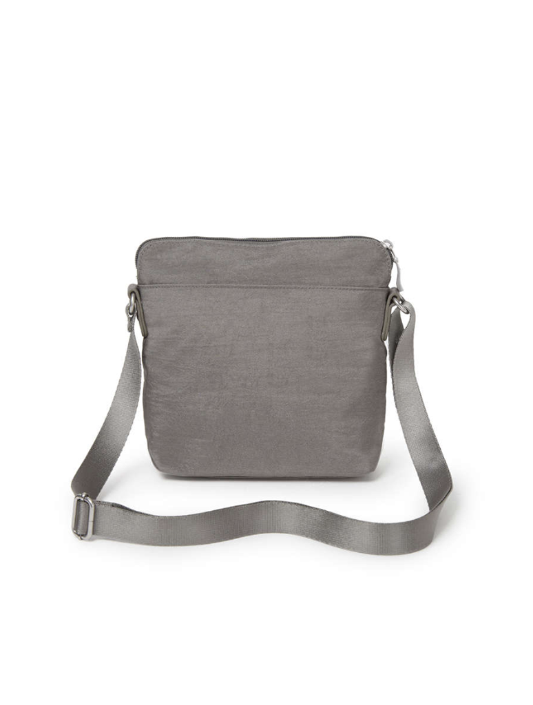 Baggallini Escape Crossbody Sterling in Sterling Shimmer