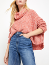Free People BFF Sweater in Red