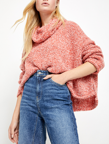 Free People Jaden Scarf in Pink