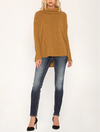 Miss Me Long Sleeve Tunic Top in Mustard