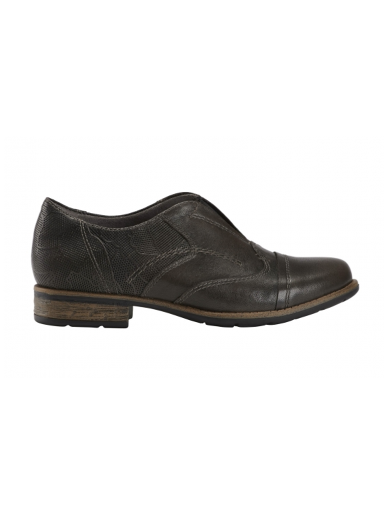 Earth Avani 2 Banyan Slip on Oxford in Grey