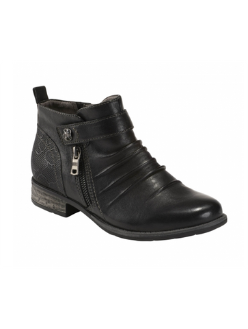 Eric Michael Denver Suede Waterproof Boot in Black