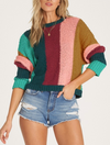 Billabong Easy Going Sweater in Jade