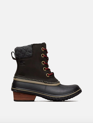 Sorel Joan Of Arctic Wedge II Zip Boot in Black