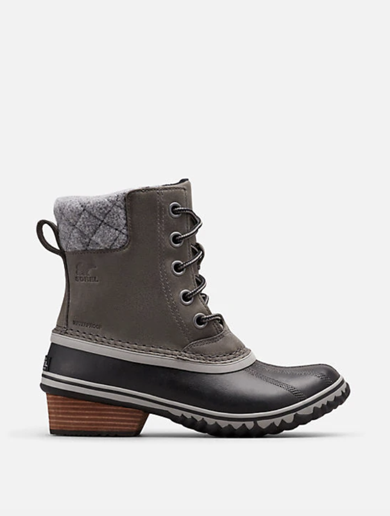 Sorel Slimpack II Lace Boot in Quarry