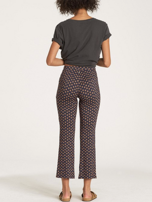 Billabong Sun Down Crop Pant in Black
