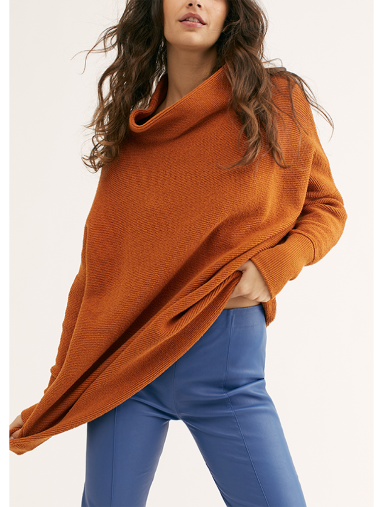 Free People Ottoman Tunic in Bronze