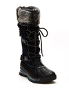 JBU by Jambu Nala Lace Up Winter Boot in Saddle/Black