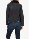 Kut from the Kloth Emma Boyfriend Jacket in Judgement Wash
