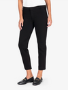 Kut from the Kloth Donna High Rise Raw Hem in Black