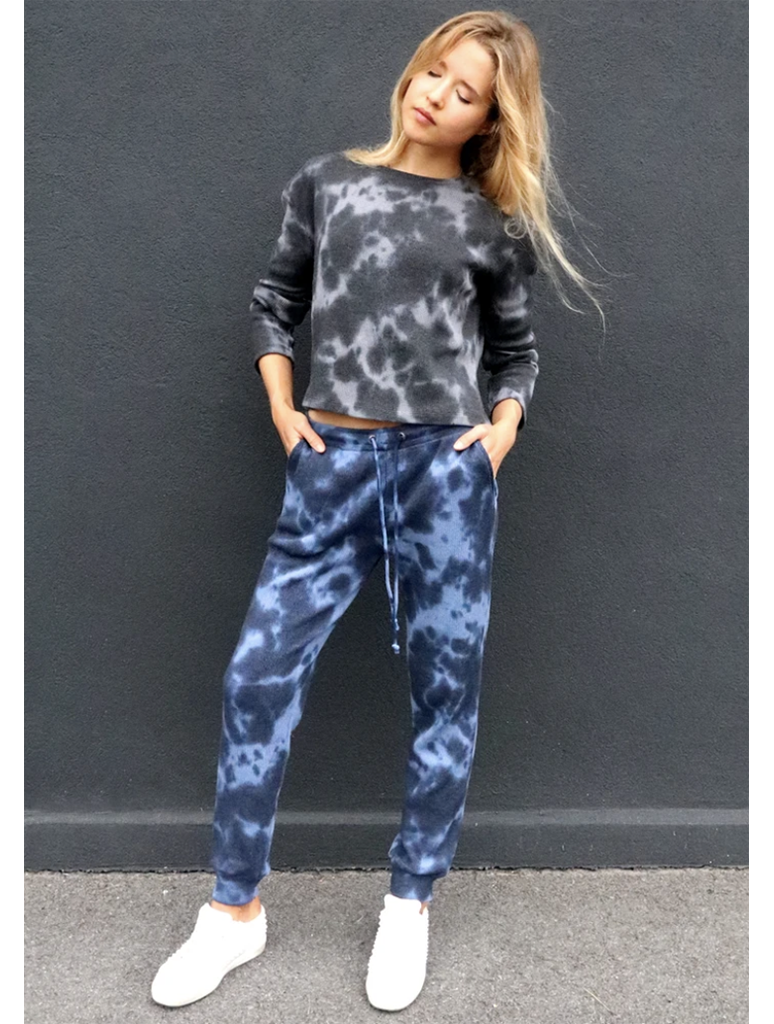 RDStyle Tie Dye Jogger Pant in Blue