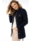 Kut from the Kloth Emma Denim Boyfriend Jacket in Judgement Wash