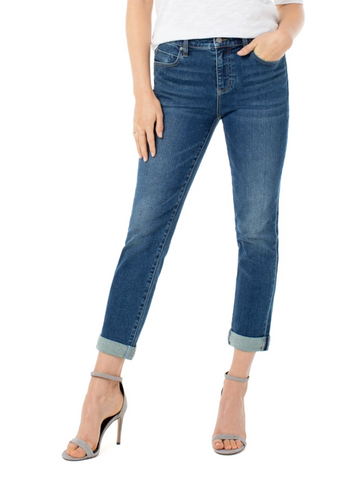 Kut from the Kloth Mia High Waist Slim Fit Skinny Denim Jean in Goodly