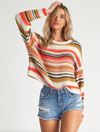 Billabong Easy Going Cropped Sweater in Samba